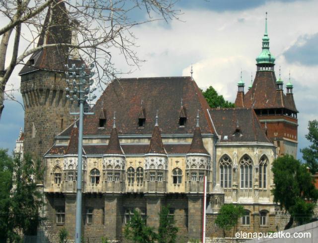 Замок-Вайдахуняд-Будапешт