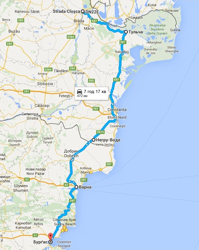 маршрут україна болгарія на машині в болгарію фото 32