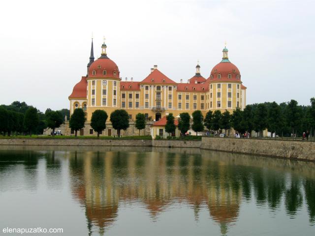 замок моріцбург фото 2
