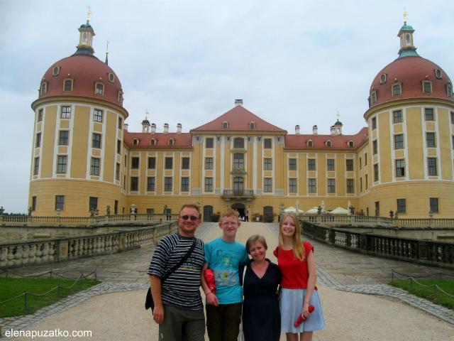 замок моріцбург фото 4
