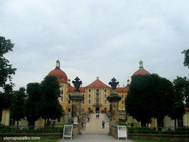 замок моріцбург фото 3