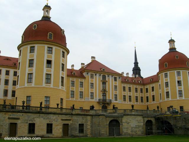 замок моріцбург фото 7