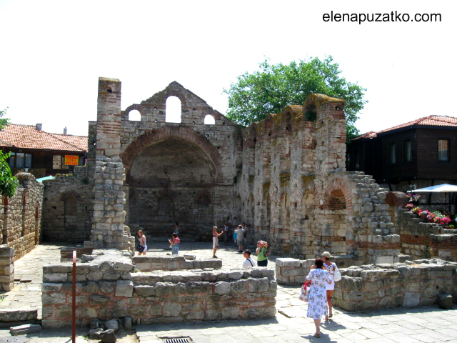 несебр болгарія старий несебр памятки фото 19
