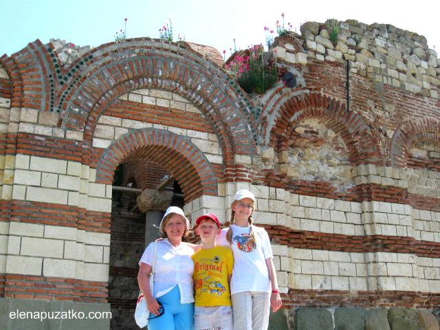 несебр болгарія старий несебр памятки фото 11