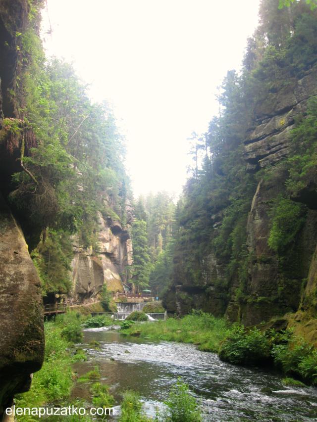 чеська швейцарія маршрути фото 17