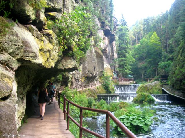 чеська швейцарія маршрути фото 18