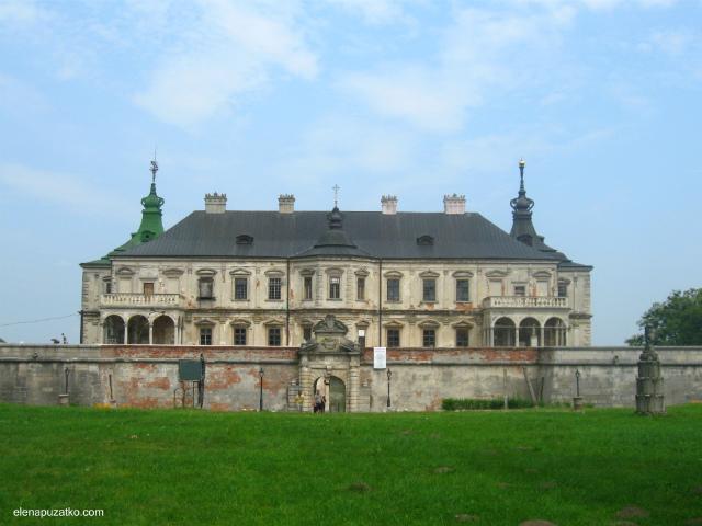 підгорецький замок легенда україна фото 9