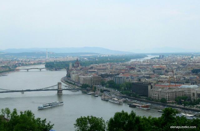 будапешт гора геллерт  угорщина фото 2