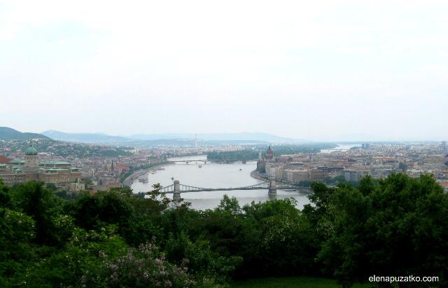 будапешт гора геллерт  угорщина фото 1