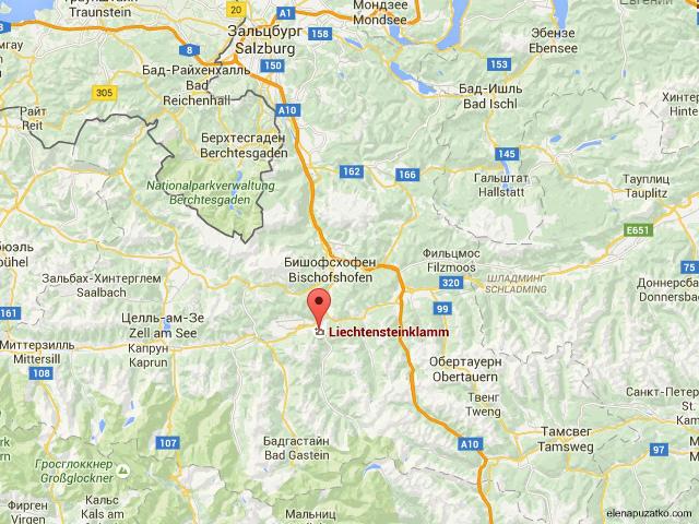ліхтенштейнська ущелина фото 1