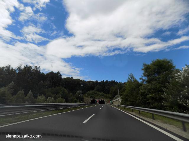 на машині в словенію фото 9