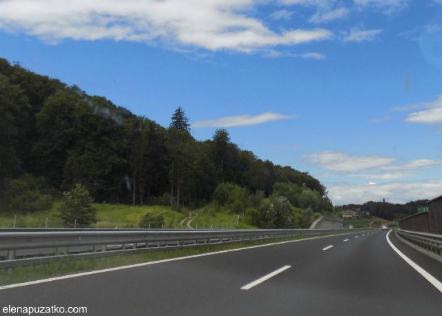 на машині в словенію фото 8