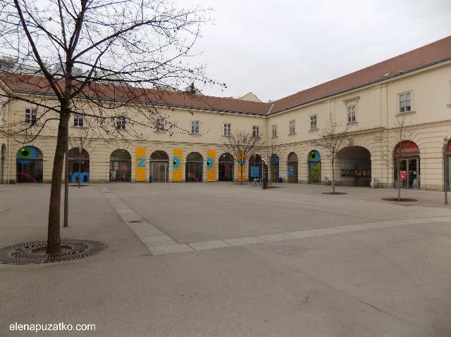 відень музейний квартал  фото 2