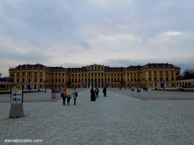 відень палац шенбрунн фото 1