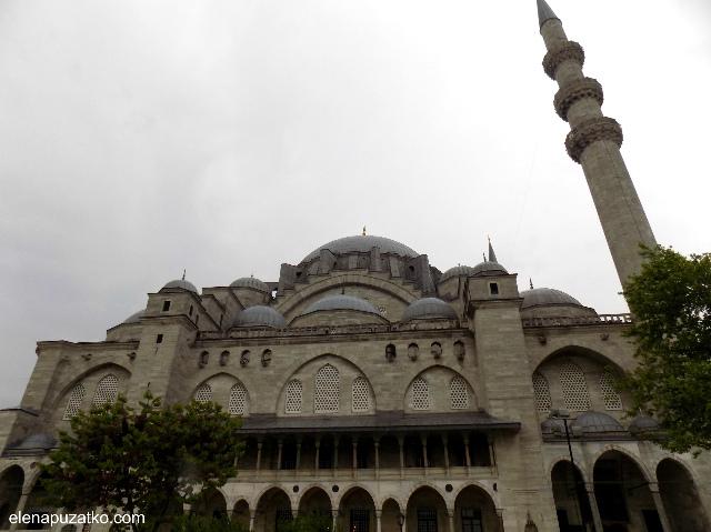 мечеть сулейманіє стамбул фото 1