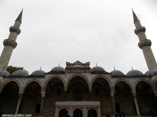 мечеть сулейманіє стамбул фото 5