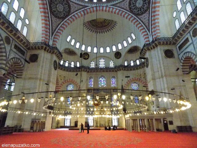 мечеть сулейманіє стамбул фото 12