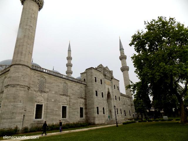 мечеть сулейманіє стамбул фото 9