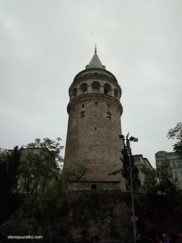 вежа галата фото 1