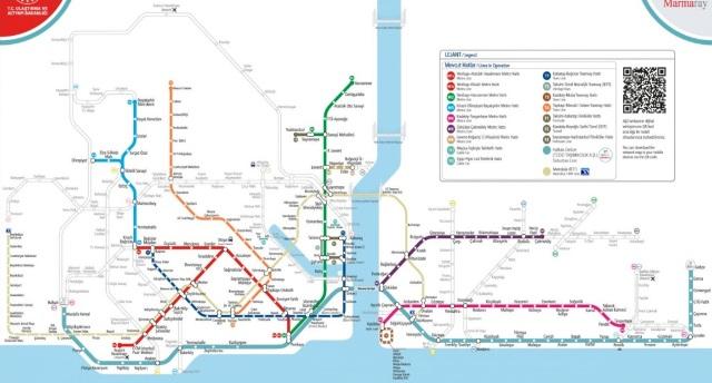 стамбул транспорт мапа