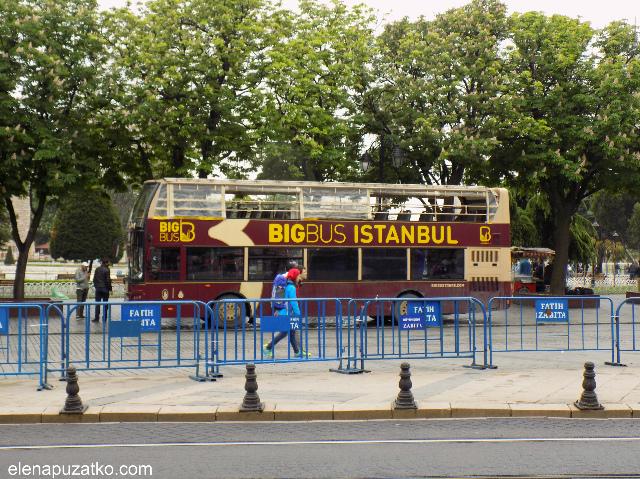 big bus стамбул фото -