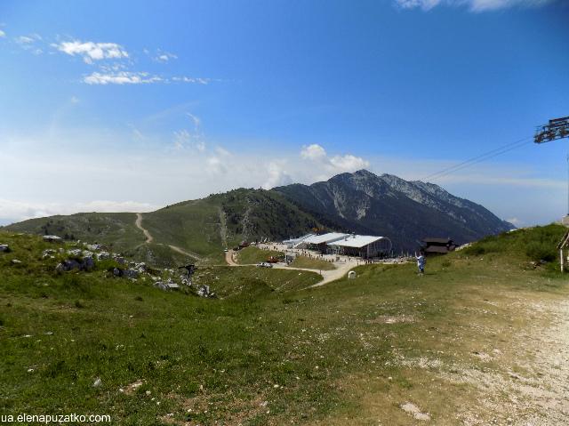 гора монте бальдо італія фото 17