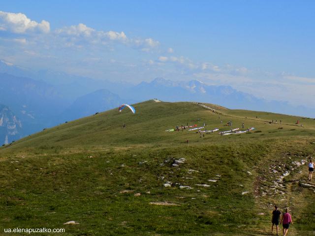 гора монте бальдо італія фото 5
