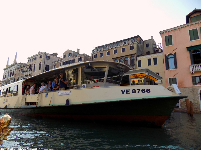 венеція громадський транспорт фото 2
