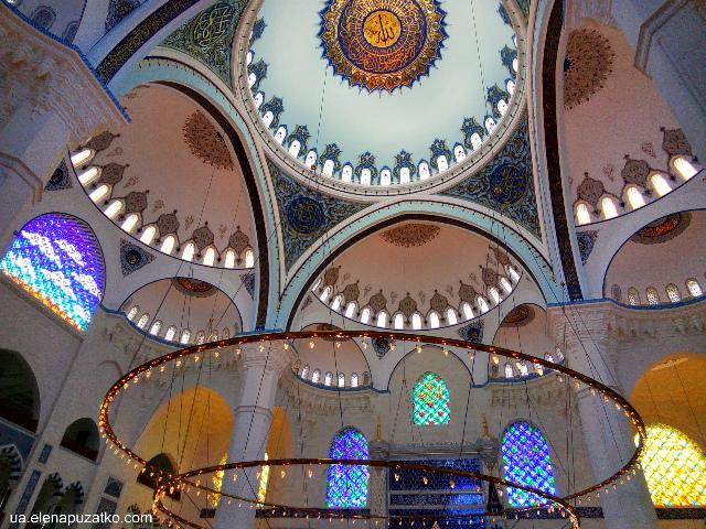 мечеть Чамлиджа Стамбул фото - 25