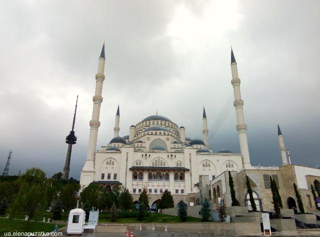 мечеть чамлиджа стамбул фото 2