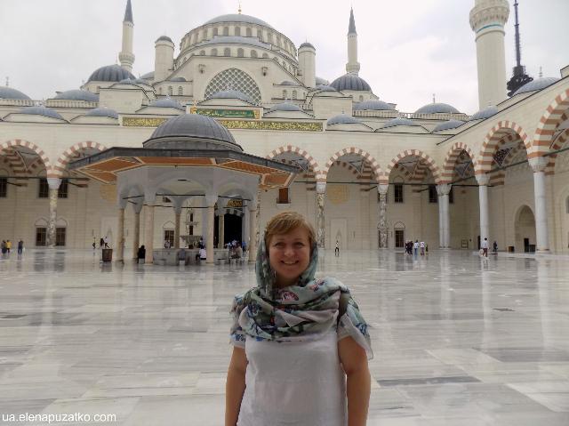 мечеть Чамлиджа Стамбул фото - 14