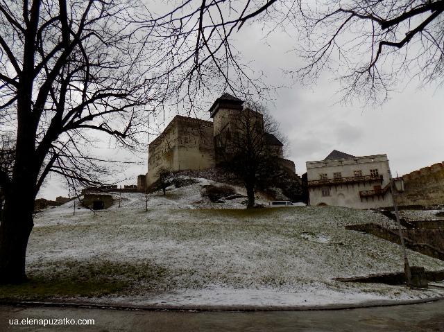 тренчианський град словаччина фото 1