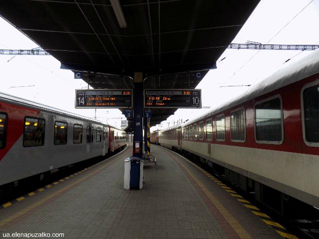братислава залізничний вокзал словаччина фото 4