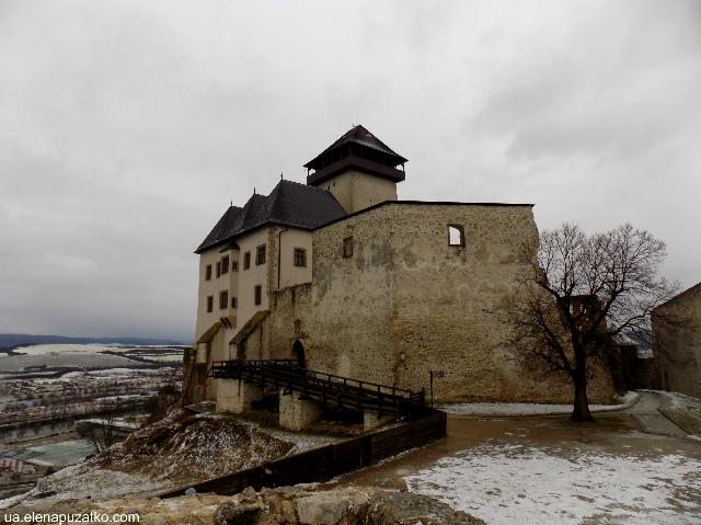 тренчанський град словаччина фото 1