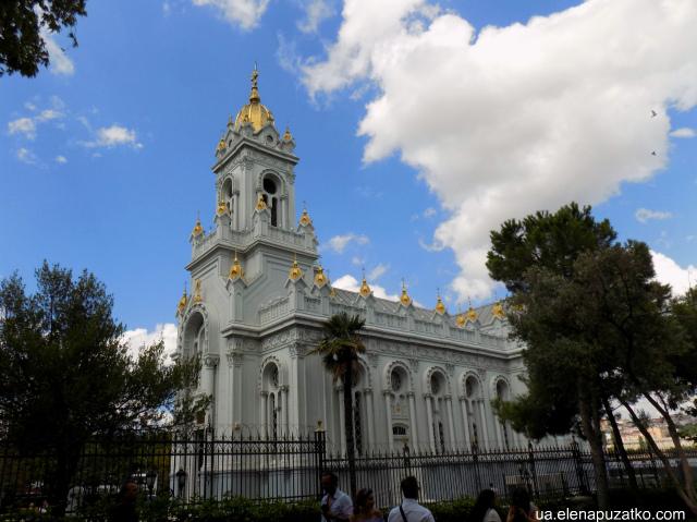 Болгарська церква Святого Стефана Стамбул фото -2