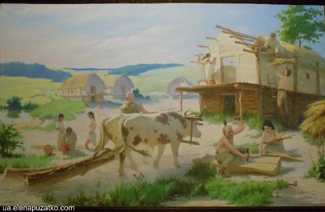 музей трипільської культури легедзине фото-12