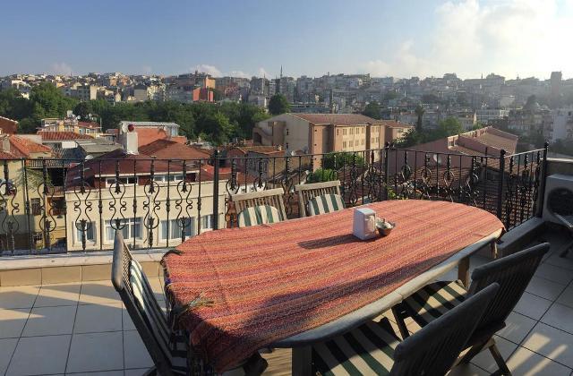 стамбул готелі в центрі з терасою фото 3
