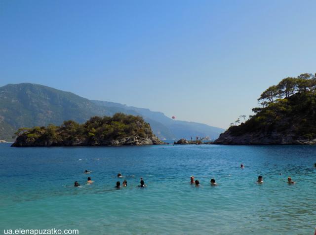 олюденіз блакитна лагуна пляж фото 6