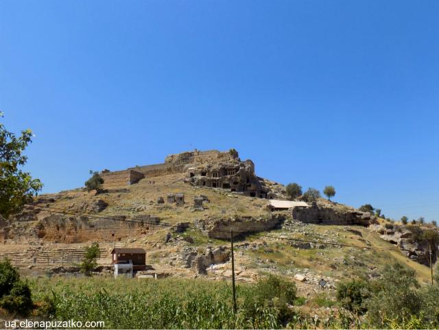 туреччина лікійське місто тлос фото 50