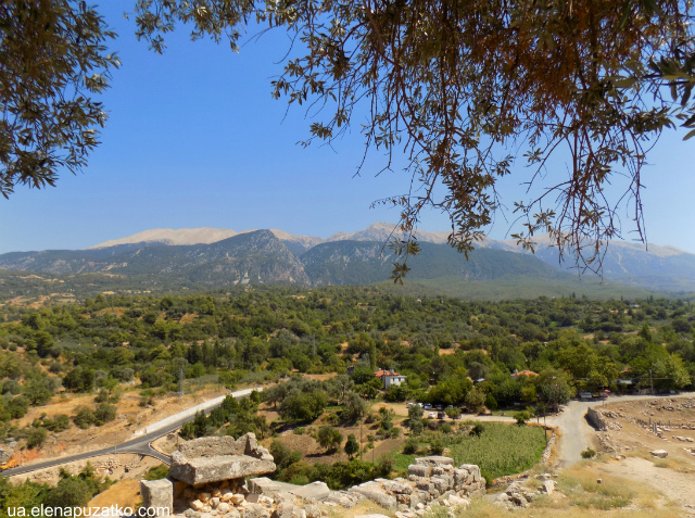 туреччина лікійське місто тлос фото 8