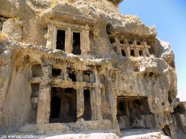 туреччина лікійське місто тлос фото 9