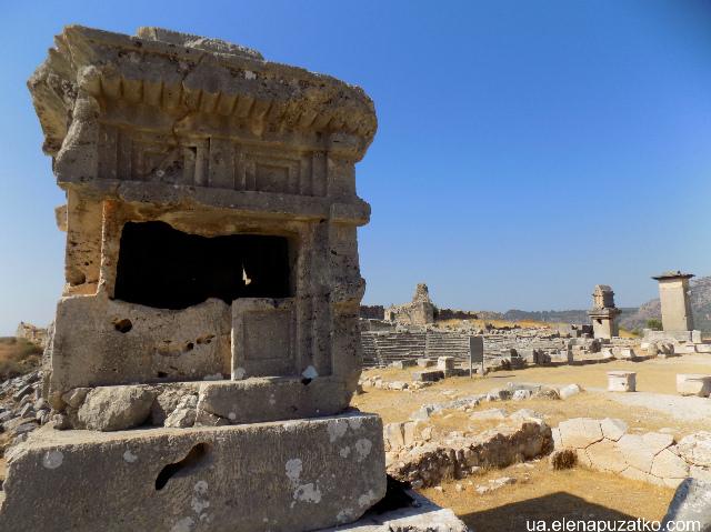 ксантос античне місто туреччина фото 10