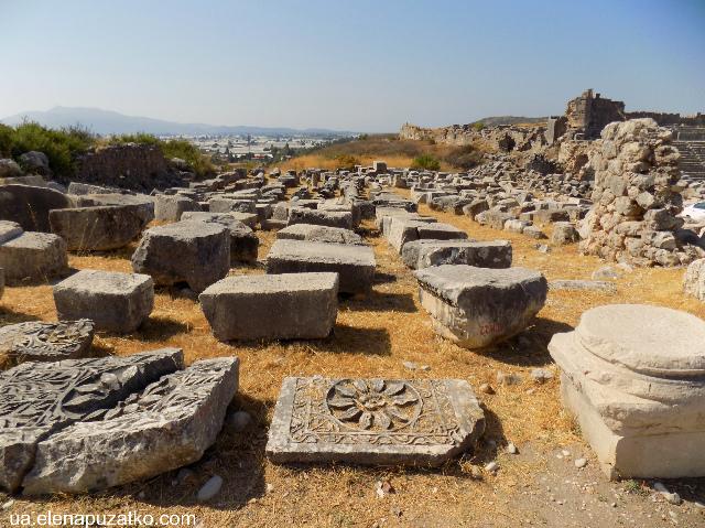 античне місто ксантос туреччина фото 11