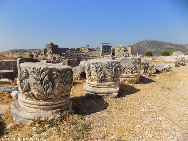 античне місто ксантос туреччина фото 12