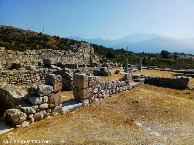 античне місто ксантос фото 16