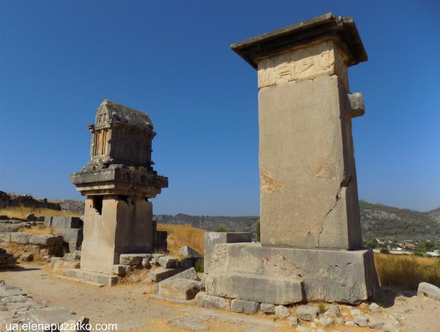 лікійське місто ксантос туреччина фото 5