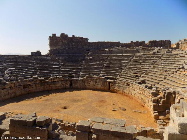 ксантос античне місто туреччина фото 9