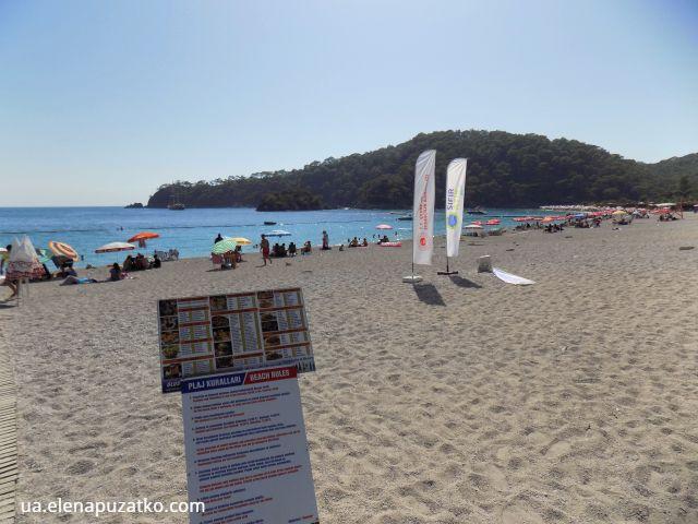 пляж блакитна лагуна олюденіз фото 10