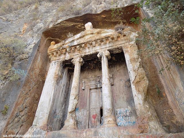 фетхіє гробниця амінтаса фото 58