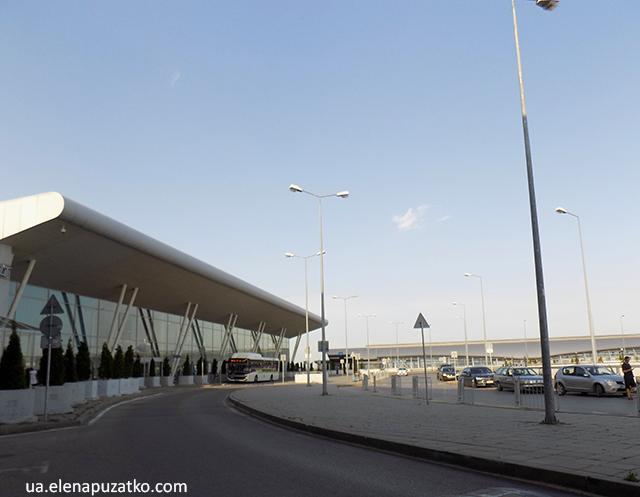 аеропорт софія транспорт до міста